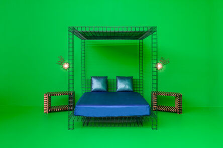 RO/LU, 'Four Poster Bed', 2015