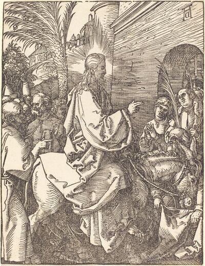 Albrecht Dürer, 'Christ's Entry into Jerusalem', Probably ca. 1509/1510