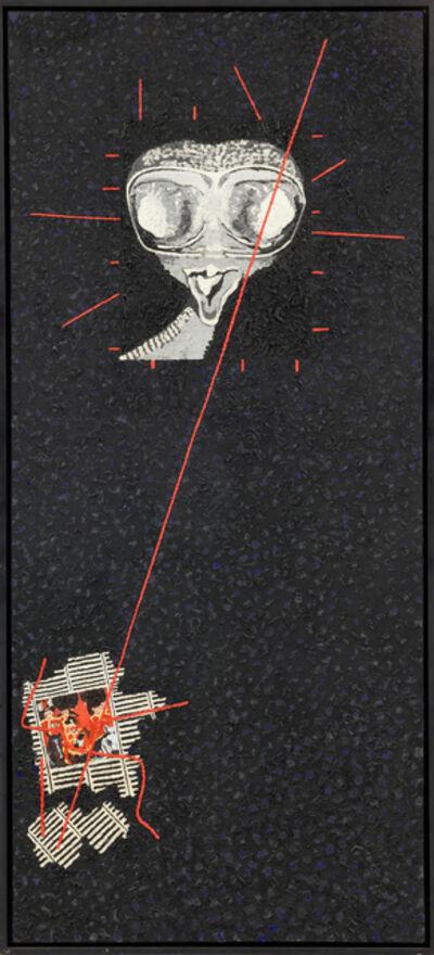 Derek Boshier, 'Fear for Her Safety', 1979