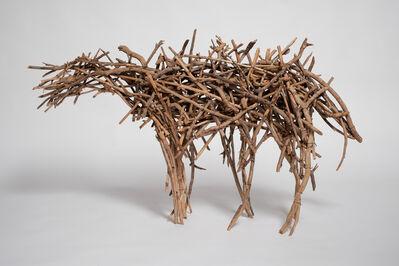 Deborah Butterfield, 'Small Dry Fork Horse', 1978