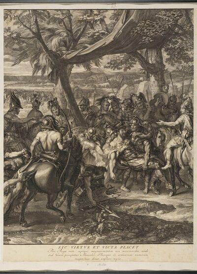 Charles Le Brun, '[Alexander and Poros]', 1724