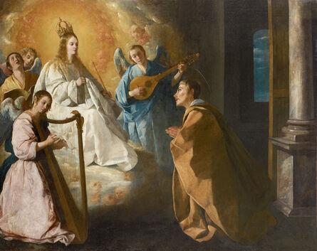 Francisco de Zurbarán, 'Aparición de la Virgen a San Pedro Nolasco  (The Appearance of the Virgin to Saint Peter Nolasco)', ca. 1628-1630