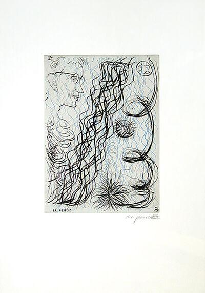 A.R. Penck, 'Jetset 4 Brillenträger', 2013