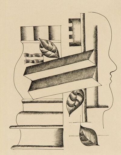 Fernand Léger, 'Profil, Vase et Clef', 1927