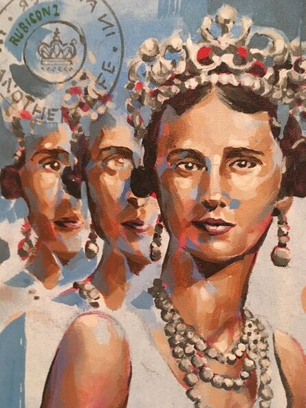 RU8ICON1, 'PRINCES OLGA, GREECE', 2017