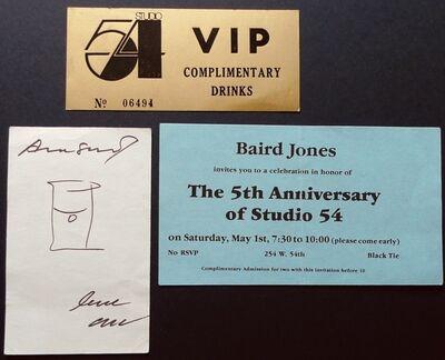 "Andy Warhol, '""Untitled (Studio 54)""', ca. 1980s"