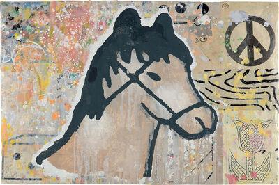Donald Baechler, 'Brown Horse', 2004