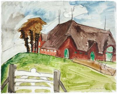 Erich Heckel, 'Das rote Haus', 1922