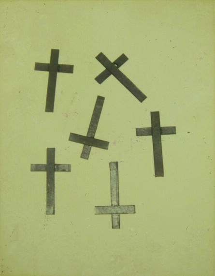 Andy Warhol, 'Crosses', anni 1980