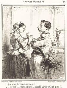 Edouard de Beaumont, 'Madame demande son café'