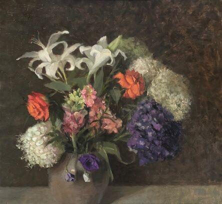 Judith Pond Kudlow, 'Coral Roses', 2019