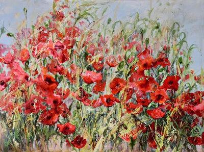 Dianne Ogg, 'Poppy Red', 2020