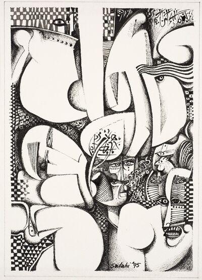Ibrahim El-Salahi, 'Untitled', 1995