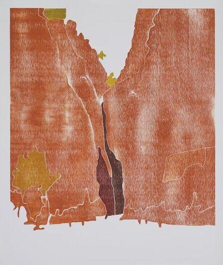 Richard Dunn, 'Redbank Gorge, MacDonnell Ranges, Central Australia c. 1936-37 (After Albert Namatjira)', 2011