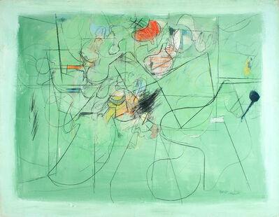 Henry Botkin, 'Open Green', 1960