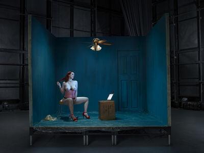 Julia Fullerton-Batten, 'Jaye Rose, Webcam Girl', 2016