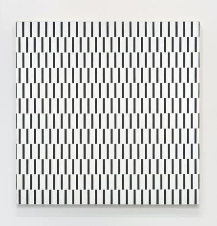 François Morellet, 'Une trame de tirets décalee à 90º', 1970