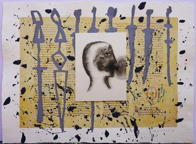 Mimmo Paladino, 'Rabanus Maurus - De Universo', 2003