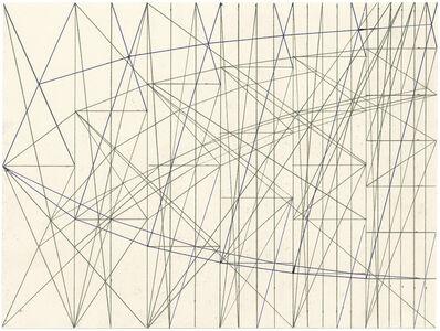 Helmut Federle, 'Überlagerung zur Strukturvernetzung', 1994