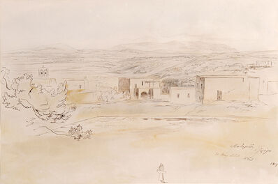 Edward Lear, 'Potamos, Cerigo, Greece', 1863