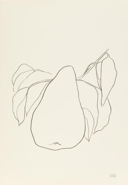 Ellsworth Kelly, 'Pear III', 1965-1966