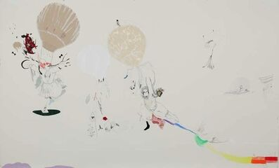 Nilbar Güres, 'WHITE FALLING', 2011