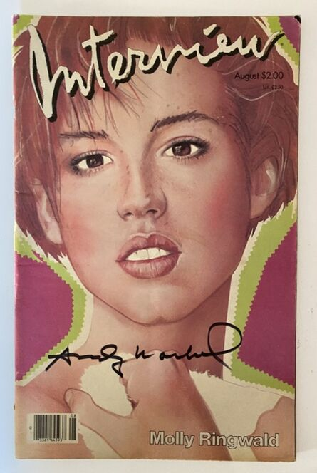 Andy Warhol, 'Interview Magazine signed by Andy Warhol (Molly Ringwald )', 1983