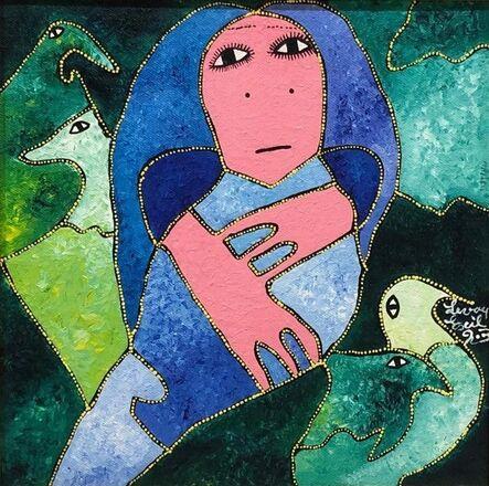 Levoy Exil, 'Blue Spirit', 2003