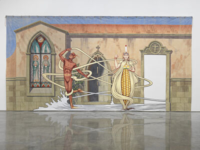 Jim Shaw, 'Wedding of the Ear', 2013