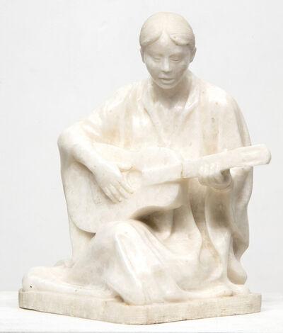 Felipe Castaneda, 'Mujer con Guitarra', 1983
