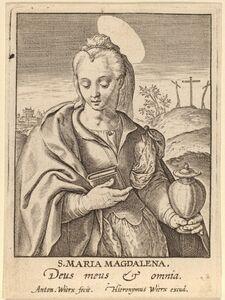 Antonie Wierix, 'S. Maria Magdalena'