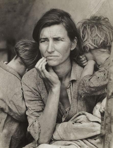 Dorothea Lange, 'Migrant Mother, Nipomo, California', 1936