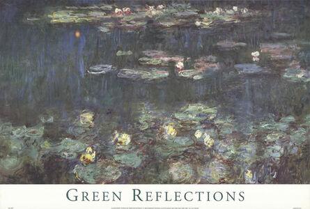 Claude Monet, 'Waterlilies: Green Reflections III', 1998