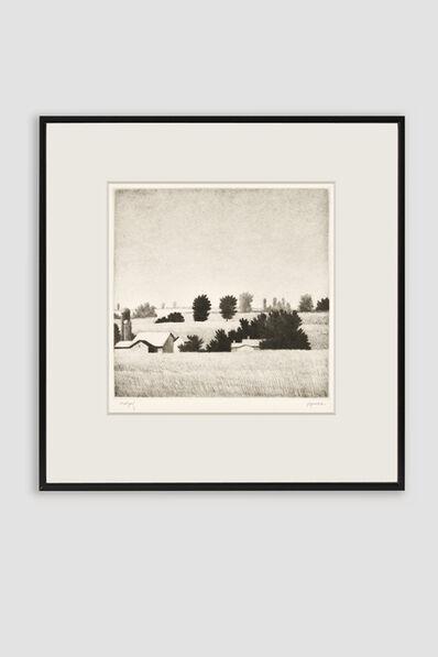 Robert Kipniss, 'Bird in Hand I Drypoint by Robert Kipniss', 1992