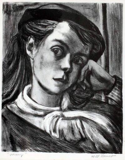 Will Barnet, 'Mary', 1936