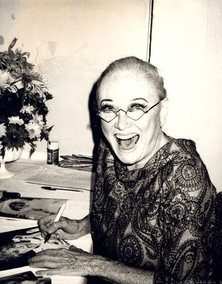 Andy Warhol, 'Andy Warhol, Photograph of Phyllis Diller circa 1983', ca. 1983
