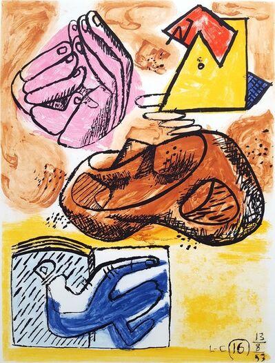 Le Corbusier, 'Unité, Planche 16 (Set of 2)', 1965
