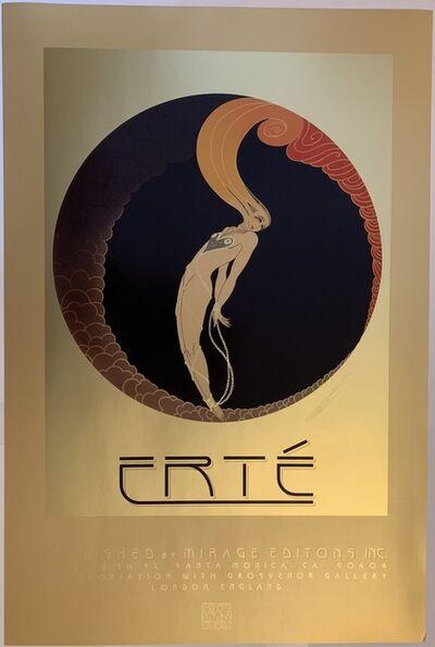 Erté (Romain de Tirtoff), 'Vintage L'Amour Poster', 1982