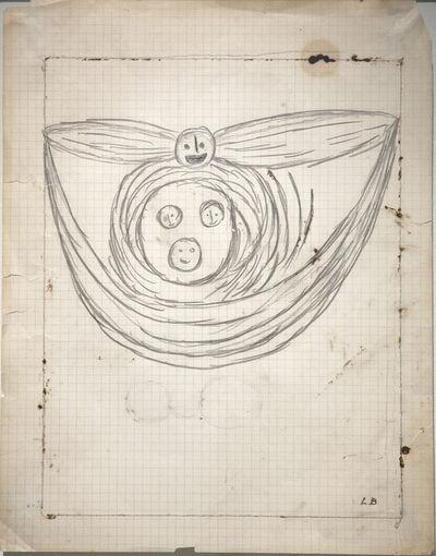 Louise Bourgeois, 'Winged Head', 1948