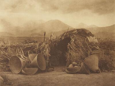Edward S. Curtis, 'A Mono Home', 1907-1930