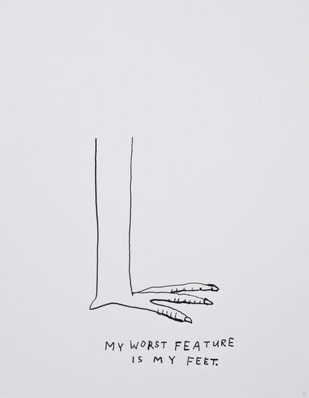 Jim Torok, 'My Worst Feature is My Feet', 2015