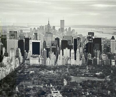 Marilyn Bridges, 'WTC and Central Park Looking South', 1997