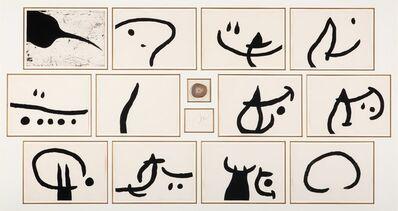 Joan Miró, 'Lapidari (Book of the Property of Stones)', 1981