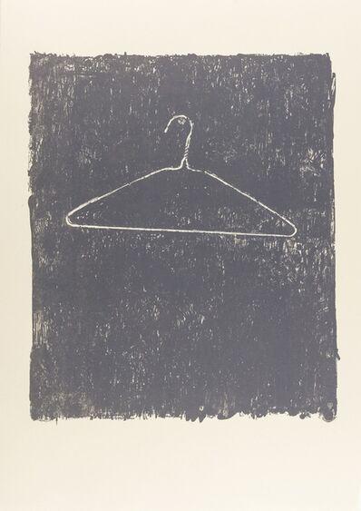 Jasper Johns, 'Coat Hanger II', 1975