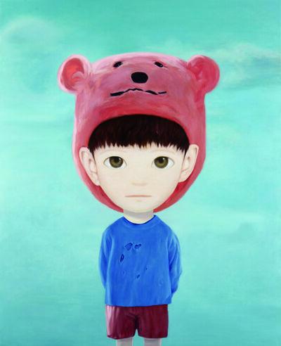 Mayuka Yamamoto, 'Orange bear', 2015