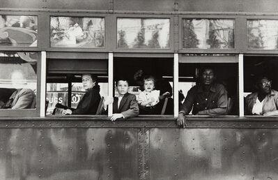 Robert Frank, 'Trolley, New Orleans', 1955-printed circa 1986