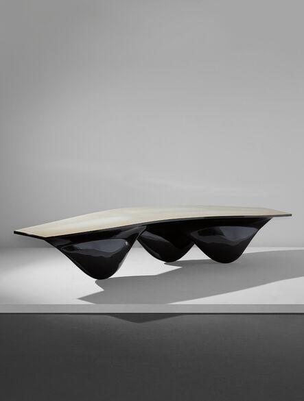 """Zaha Hadid, 'Black """"Aqua"""" table', 2006"""