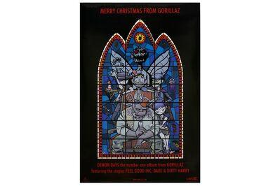 Jamie Hewlett, 'Gorillaz - Stained Glass Poster'