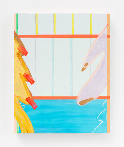 Jessica Simorte, 'Transparent Center Lines', 2016