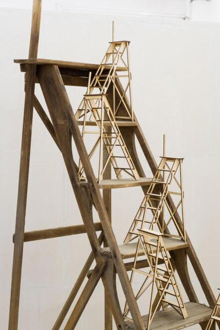 Adrien Tirtiaux, 'Maquette à l'échelle', 2018